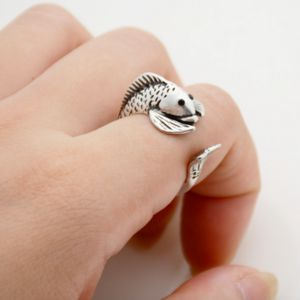 Fish Ring - jewellery sale