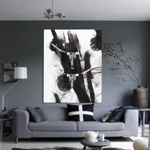Double Trouble, Canvas Art - oversized art