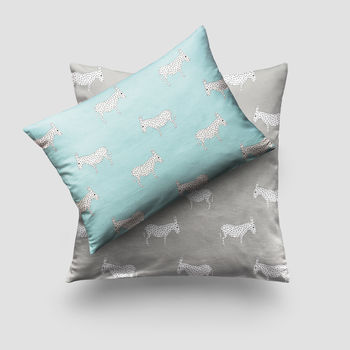 Donkey Print Cushion