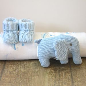Baby Boy Elephant Bundle / Hamper - toys & games