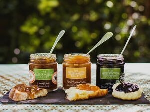 Luxury Trio Of Jams And Marmalades