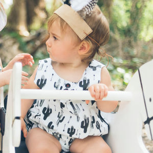 Cactus Bubble Baby Romper / Girls Playsuit - all in-ones for children