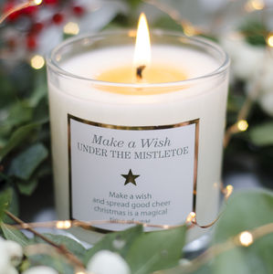 Christmas Scented Candle - winter sale