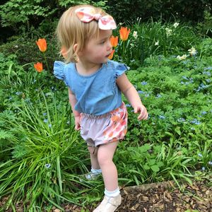 Baby Bloomers Peach - underwear