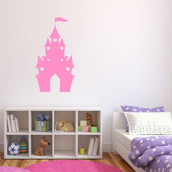 Kids Castle Vinyl Wall Sticker