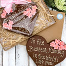 Mothers Day Belgian Chocolate Heart