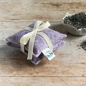 Dahlia Linen Lavender Bag Bundle