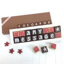 Personalised Chocolates In Small Box