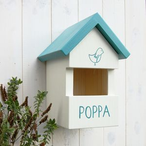 Personalised Robin Bird Box - birds & wildlife