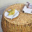 Wicker Coffee Table Round