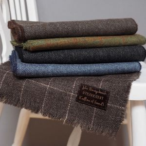 Personalised Lambswool Message Scarf - best father's day gifts