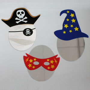 Children's Character Themed Mirror - decorative accessories