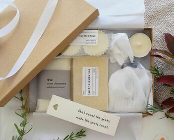 Organic Letterbox Spa Gift Collection
