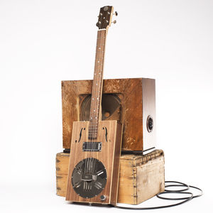 Resophonic Cigar Box Guitar - traditional toys & games