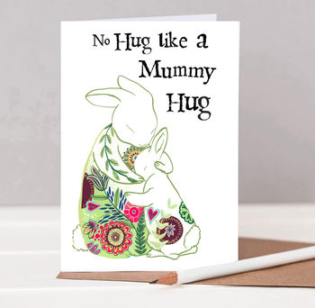 Mummy Hugs Mother's Day Card