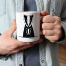 Badger Daddy And Me, Personalised Mug