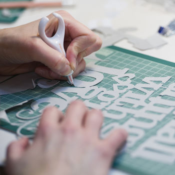 Papercutting Dorset Beginners Workshop For Two