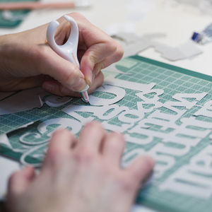 Papercutting Dorset Beginners Workshop For Two - experience gifts