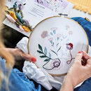 In Bloom Embroidery Kit