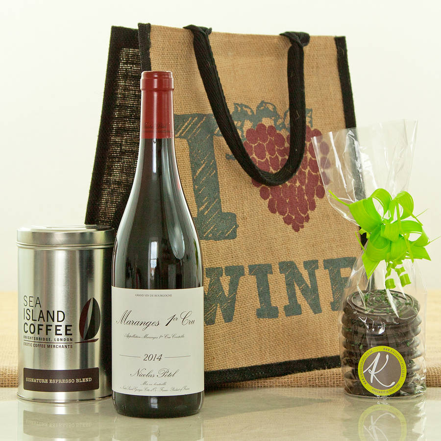 Coffee And Wine Lovers Gift Set