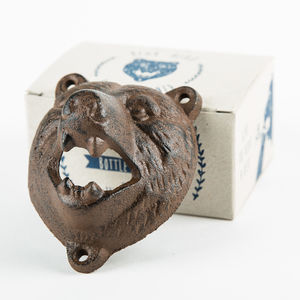 Bear Animal Bottle Opener - corkscrews & bottle openers