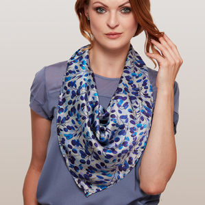 Honesty Square Silk Scarf