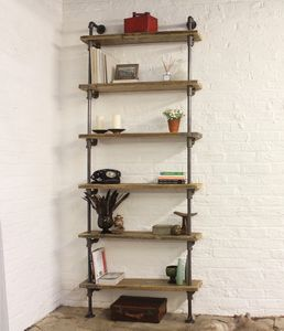 Holmes Bespoke Reclaimed Scaffolding Board Shelves - furniture