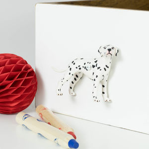 Dalmatian Dog Cupboard Door Knobs Set Of Eight