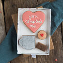 You Complete Me Biscuit Gift Set
