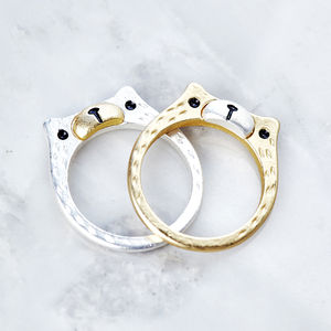 Bear Ring - rings