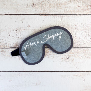 Personalised Signature Eye Mask