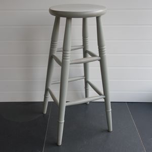 High Stool Hand Painted In Any Colour