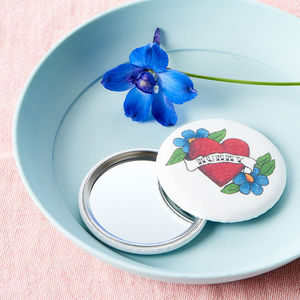 Personalised Tattoo Mirror - gifts for her