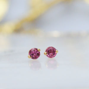 Delicate Tourmaline Stud Earrings - new in jewellery