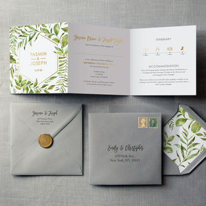Tuscany Wedding Invitation - save the date cards