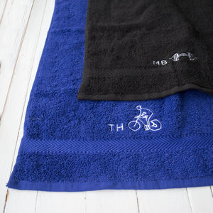 Personalised Sports Towel - bed, bath & table linen