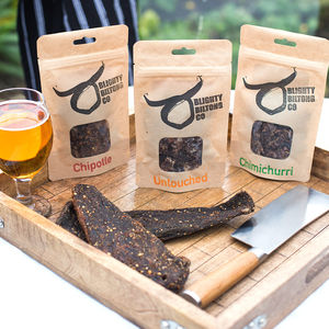 Welsh Wagyu Beef Biltong Set Of Three - savouries