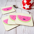 Cheerful Watermelon Single Coaster