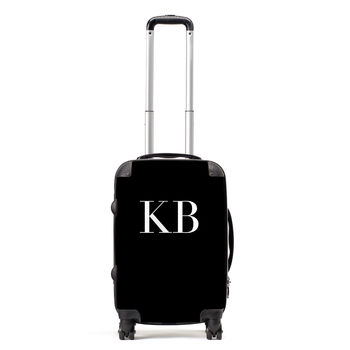 Monogram Personalised Suitcase