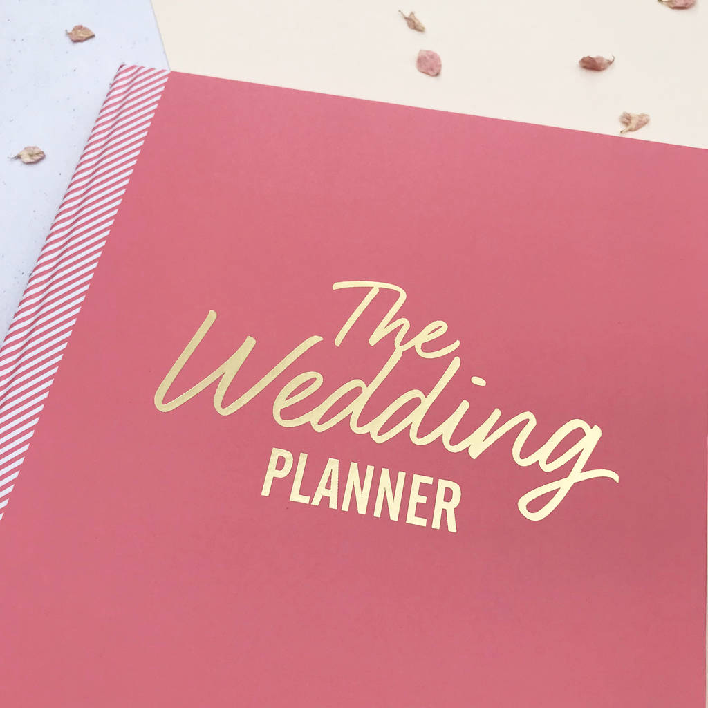 the ultimate wedding planner in pink by illustries ...