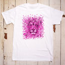Bubble Lion T Shirt