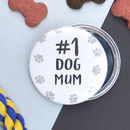 Dog Mum Pocket Mirror