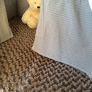 Wigwam With Play Mat In White And Grey Star Design