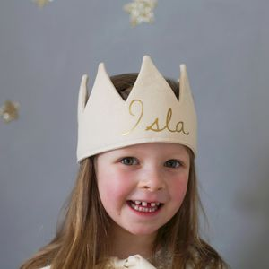 Personalised Name Crown