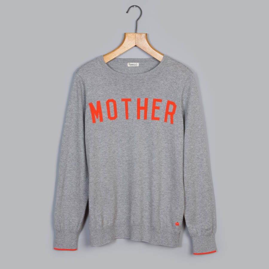 Mother Charity Cashmere Sweater By The Bonnie Mob