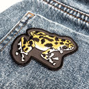 Frog Embroidered Iron On Patch