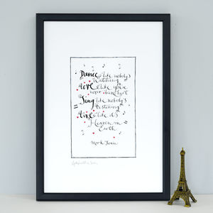 Best Friend Gift 'Dance Like Nobody's Watching' Print