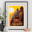 Indonesia Travel Print