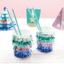 Multi Colour Piñata Style Party Cups