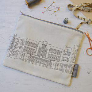 Deco Building Fabric Pouch